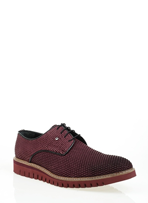 Derigo %100 Deri Klasik Ayakkabı Bordo